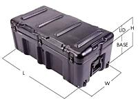 Pelican Hardigg Single Lid Cases