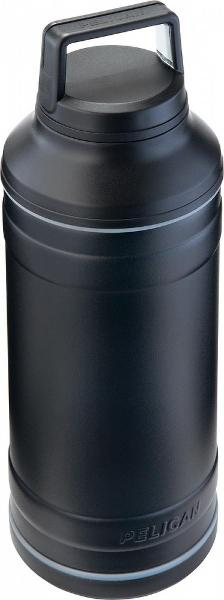 a black Pelican travel bottle TRAVBO64 from RP Luce