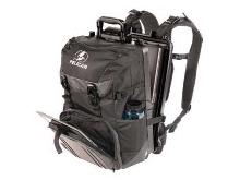 Durable Pelican ProGear Sport backpack with built-in watertight and crushproof case.