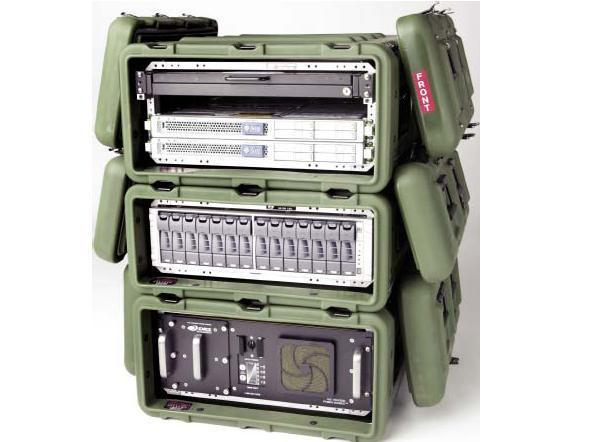 "Rackmount 05U x24 Hardigg MAC Rack Shock Mount 19/"" Shockmount Case Pelican GRN1"