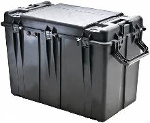 Heavy-duty Pelican 0500 Transport Case custom-made for specific OEM (original equipment manufacturer) needs.